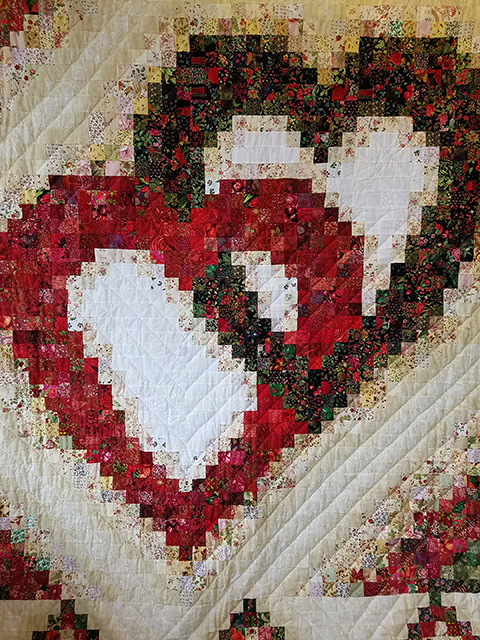 Linking Hearts The Quilt Shop At Miller's Mesmerizing Heart Quilt Pattern